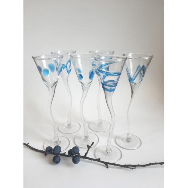 Snapseglas (6 stk.)